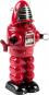 Roboter mit Feuerstein, rot. Bild 1