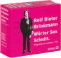 Rolf Dieter Brinkmann. Wörter Sex Schnitt. Originaltonaufnahmen 1973. 5 CDs. Bild 1