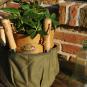 Runde Tasche für Gartengeräte. Bild 1