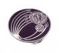 Schal Ring Charles M. Mackintosh »Rose«, violett. Bild 1
