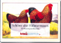 Schöne alte Hühnerrassen - 16 Kunstpostkarten Bild 1
