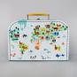 Spielkoffer Weltkarte. Bild 1