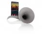 Stromloser Verstärker für Musik »Horn«, grau. Bild 1