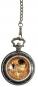 Taschenuhr Klimt - Mit Porzellandeckel Bild 1