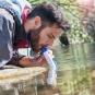 Tragbarer Wasserfilter. Bild 1