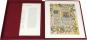 Unesco Memory of the World. Vier Faksimileblätter aus wertvollen Handschriften des Weltdokumentenerbes. Bild 1