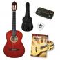 Voggenreiter Gitarren-Einsteiger-Set. Braune Akustik-Gitarre. Bild 1