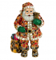 Weihnachtsmann aus Mosaik. Bild 1