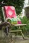 Wolldecke »Prisma«, wassermelonenrot. Bild 1