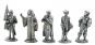 Zinnfiguren Set - Kreuzritter aus Zinn im 5er-Set Bild 1