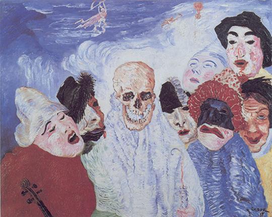 James Ensor 1860-1949 Theatre of Masks