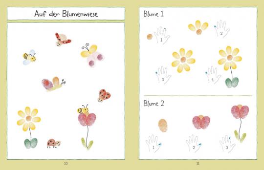 Mein Fingerabdruck Stempelbuch Tiere Jetzt Online Kaufen