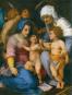 Andrea del Sarto. Die Heilige Familie in München und Paris. Bild 2