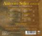 Antonio Soler. Konzerte für 2 Cembali Nr.1-6. CD. Bild 2