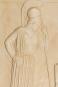 Athene-Relief. Griechische Klassik, um 460 v. Chr. Bild 2