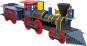 Bau dir ein Schiff, ein Flugzeug, einen Orient-Express und eine Lokomotive. 4er-Set. Bild 2