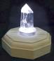Bergkristall-Spitze mit Beleuchtung. Bild 2