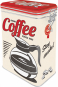 Blechdose »Strong Coffee served here - Let us wake you up!« Bild 2