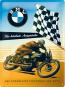 Blechschild BMW - Für höchste Ansprüche Bild 2