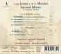 Carlo Lenzi. Lamentaziones I & II. Sacred Music in Lombardy 1770-1780. CD. Bild 2