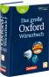 Das große Oxford Wörterbuch. Englisch-Deutsch / Deutsch-Englisch. 3. Auflage. Bild 2