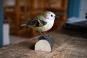 Deko-Vogel Wintergoldhähnchen. Bild 2