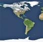 Die Erde. Unser blauer Planet von oben. Bild 2
