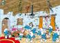Die Schlümpfe. Schlumpfhaus Puzzle. Bild 2