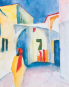 Die Tunisreise 1914. Paul Klee, August Macke, Louis Moilliet. Bild 2