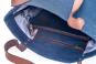 Fahrradtasche »Kannwas« mit Trageriemen, blaubeerblau. Bild 2