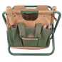 Gartenhocker mit abnehmbarer Gerätetasche. Bild 2