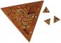 Geduldspiel »Farben-Dreieck«. Bild 2