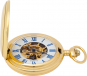 Goldene Taschenuhr Doppel-Savonette. Bild 2
