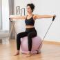 Yoga-Ball mit Stabilitätsring. Bild 2