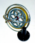 Gyroskop aus Metall. Bild 2