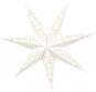 Hängelampe in Sternform. Papierobjekt aus Kopenhagen. Bild 2