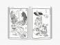 Hokusai Manga. Bild 2