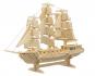Holzbausatz Segelschiff. Bild 2