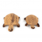 Holztier Schildkröte. Bild 2