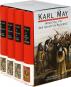 Karl May. Winnetou 1-3. Der Schatz im Silbersee. 4 Bde. Bild 2