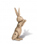 Kay Bojesen Holzfigur »Kaninchen«. Bild 2