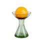 Kerzenhalter & Vase aus Waldglas, klein. Bild 2