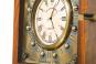 Kompass mit Uhr in Holzbox Bild 2