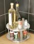 Küchen-Karussell aus Edelstahl, 2 Ebenen. Bild 2