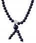 Lapis-Schmuck: Perlenkette mit Bergkristall Bild 2