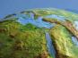 Leucht-Globus Classic mit Relief. Bild 2