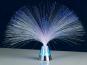 Lunartec Glasfaserlampe 'Blue Ice' mit farbwechselndem Sockel Bild 2