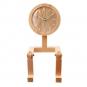 Männchen-Uhr aus Holz. Bild 2