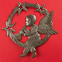 Metallornament »Engel mit Trompete«. Bild 2