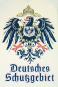 Nostalgisches Thermometer Deutsches Schutzgebiet aus Blech Bild 2